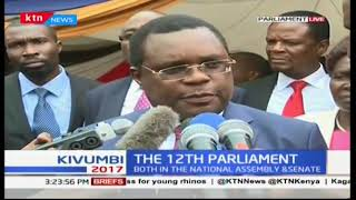 Speaker of the Senate Kenneth Lusaka: The Senate and the National Assembly will work harmoniously
