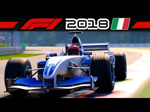 F1 2018 – BMW Williams FW25 Classic Car – V10 Power In Monza | Let's Play Formel 1 Gameplay German