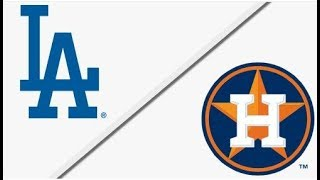 Los Angeles Dodgers vs Houston Astros | World Series Game 4 Full Game Highlights