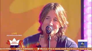 Keith Urban   We Were (Live On GMA 2019)