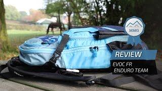 EVOC FR Enduro Team backpack review: integrated back protector