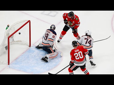 Oilers fall 4-3 to Blackhawks in Game 3