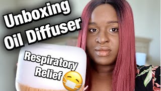 Unboxing ESSENTIAL OIL Diffuser | Respiratory RELIEF | How To Use Diffuser Essential Oil