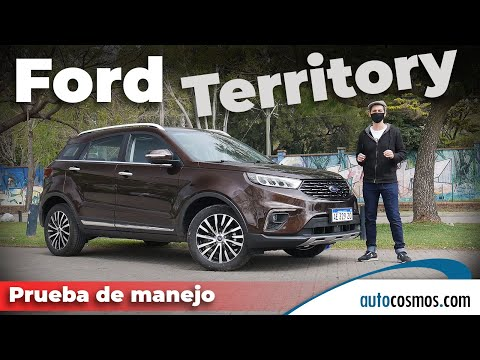 Test Ford Territory, el Ford de China