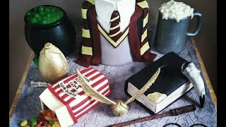 The ULTIMATE Harry Potter Cake Tutorial!