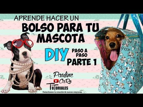 DIY BOLSO  PARA TU PERRO PARTE I