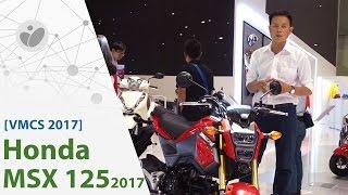VMCS 2017 | Honda MSX125 mới được bán chính hãng, giá 50 triệu đồng | Tinhte.vn
