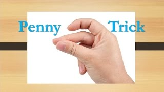Penny Snap Trick - Make a Penny Fly Bar Magic Trick Shot