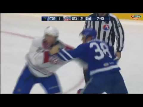 Colin Greening vs. Stefan Matteau