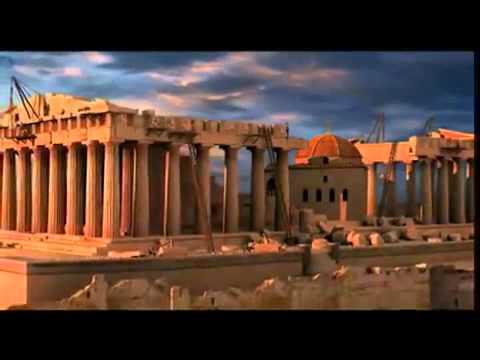 Афинский Парфенон реконструкция 3D