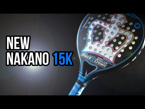 Pala de Padel Black Crown Nakano 15k