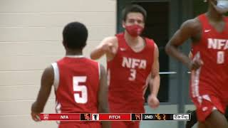 Boys' basketball highlights: NFA 41, Fitch 32 (OT)