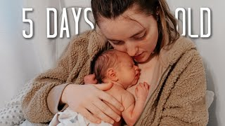 REAL Newborn Night Routine! (5 DAYS OLD!)