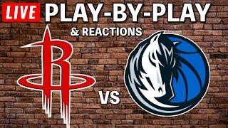 Houston Rockets Vs Dallas Mavericks | Live Play-By-Play & Reactions
