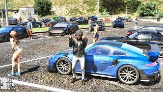 GTA 5 REAL LIFE MOD #313   CAR MEET (GTA 5 REAL LIFE MODS)