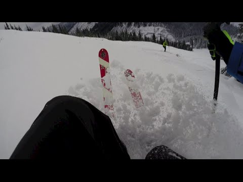 Early Bird Ski Runs on Stevens Pass Backside