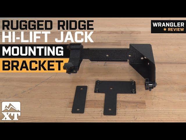 Rugged Ridge Hi-lift Jack Mounting Bracket (07-18 Jeep Wrangler JK)