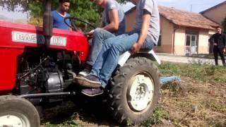 Başak Traktör Tarla Sürümü Çankırı Tarım Meslek Lisesi
