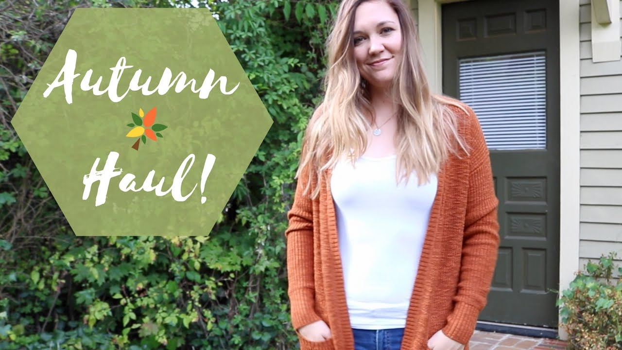 Autumn Haul! | feat. Target, Old Navy, H&M, and Versona!