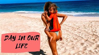 Day In The Life Of PRO SURFERS On North Shore Of OAHU | Summer Time |