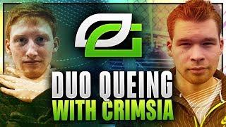 Duo Queing with Crimsiaaaaaaaaaaaa