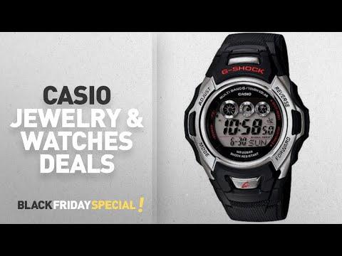 Walmart Top Black Friday Casio Jewelry & Watches Deals: Casio Men's Solar-Atomic G-Shock Watch,