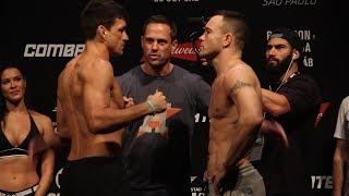 UFC Sao Paulo: Demian Maia vs. Colby Covington Staredown - MMA Fighting