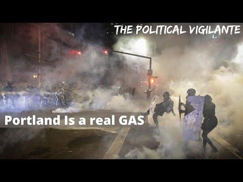 Federal Agents In Portland  Tear Gas The Press
