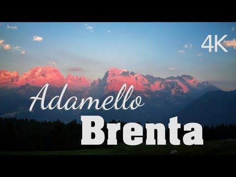 DOLOMITI - Parco Naturale Adamello Brenta - Timelapse - 4K