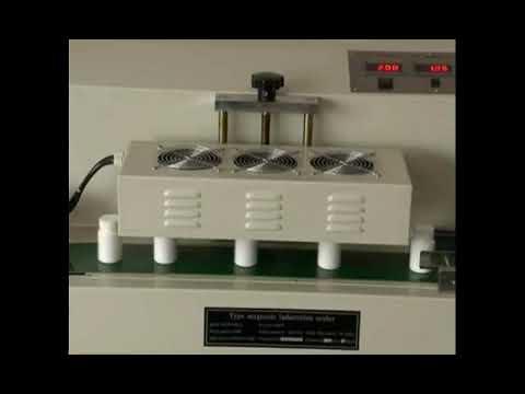Table Top Continuous Aluminum Foil Induction Sealer