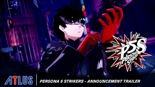Persona 5 Strikers – Announcement Trailer | PlayStation 4, Nintendo Switch, PC