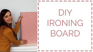 How To Make A DIY Ironing Board For Quilting