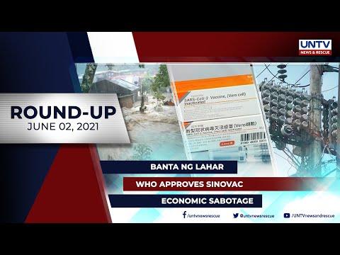 [UNTV]  UNTV NEWS ROUNDUP: Mga balitang dapat mong malaman (June 2, 2021)