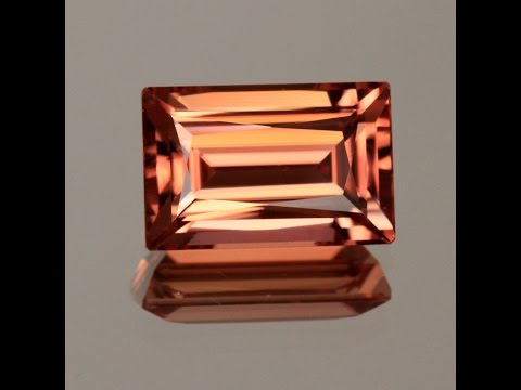 Zircon imperial color 7.97 carats