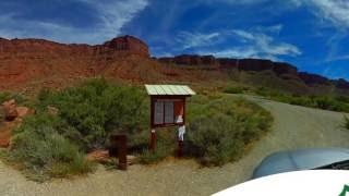 Hal Canyon Campground BLM Moab Utah UT 360 VR 4k