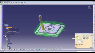 Catia V5 Part1 Machining (CAM) – CNC programming