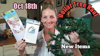 Dollar Tree Haul ♡ New Items ♡ Oct 18th