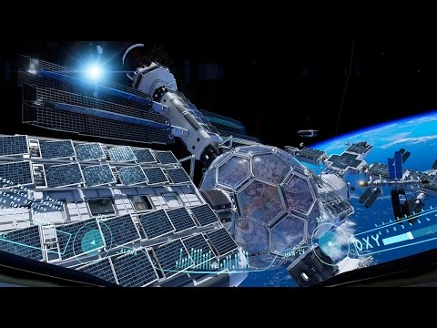 Gameplay video ze sci-fi hry Adr1ft