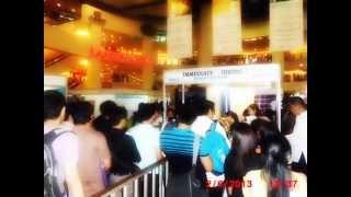Job Fairs In Philippines Trinoma.wmv