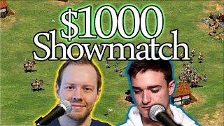 TheMax vs Hera! $1000 AoE2 Showmatch! feat TheViper cocast!