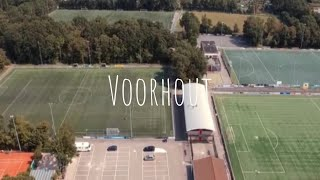 Voorhout van boven | Re_edit - upscaled to 4K (DJI spark + DJI phantom 3 standard)