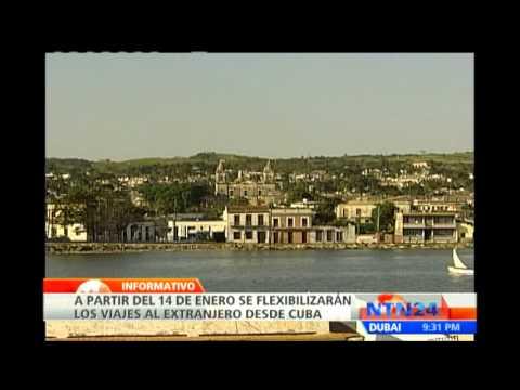 Reforma migratoria en Cuba entrará en vigencia el próximo lunes 14 de enero