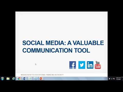 School Counselor Webinar Series: Using Social Media to Communicate to Families