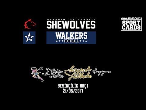WALKERS FLAG vs SHEWOLVES FLAG