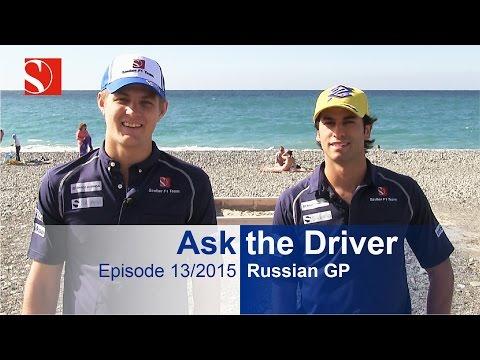 #AskTheDriver - Russia - Episode 13/2015 - Sauber F1 Team