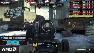 OpTic Gaming Vs FaZe Red - Game 1 - Group B Match 1 - #MLGXGames