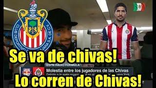 INCREIBLE! CORREN A JAIR PEREIRA DE CHIVAS POR INDISCIPLINA