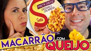MacN Cheese - Macarrão Com Queijo Da Sadia é Bom?