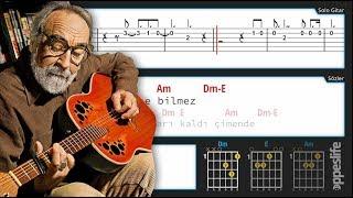 Kimse Bilmez [Gitar]+[Tab]+[Akor]+[Karaoke]
