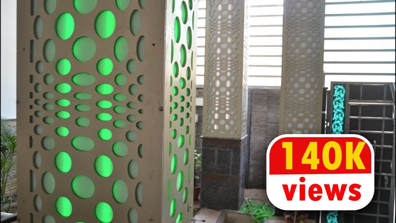 Decorative Pillars | Decorative Partitions By ECOSTE PVC Jali